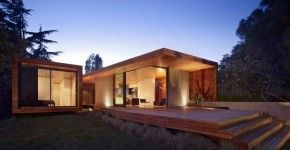 Diseño de casa de una planta moderna