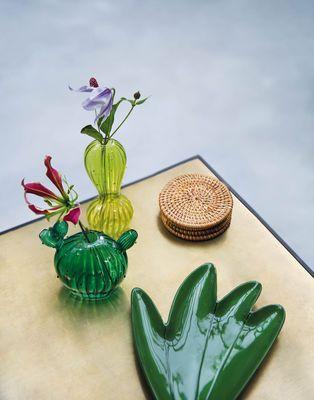 Vase Cactus Vert Petit Pot De Fleur Cadeau Maitresse D Ecole