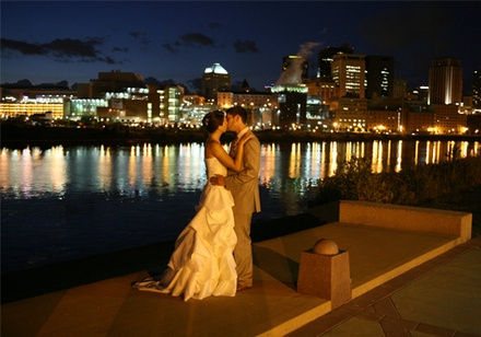 #7 A lovely location #Location Harriet Island, St Paul, MN #wedding #modcloth