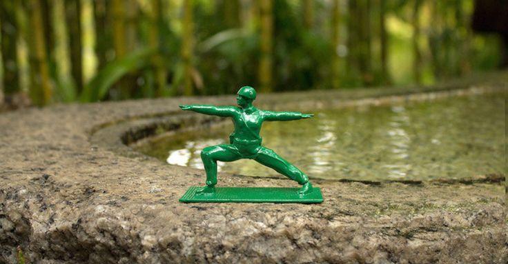 G.I. Joe Dons Yoga Pants To Help Fellow Veterans Deal With PTSD