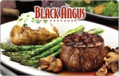 Black Angus Steakhouse. The fried zuccini wth cucumber sauce is my ultimate favorite dish!