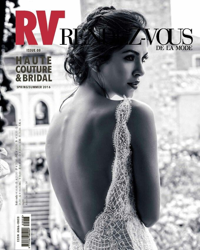 Cover Rendez-vous de la Mode magazine, issue 8.