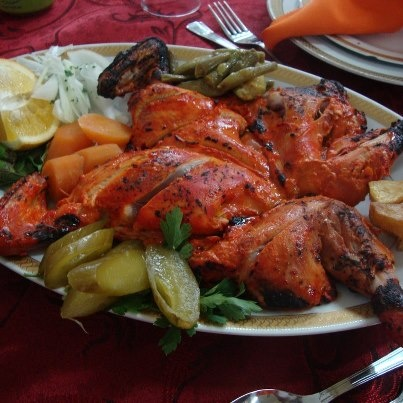 Persian Food Bone Chicken Kabob Persian Yummy Pinterest Food