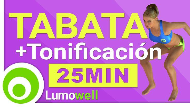 Tabata Cardio HIIT Training + Ejercicios de Tonificación - Adelgazar y T...