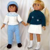 Ski and Skate Wear for 18-Inch Dolls - via @Craftsy