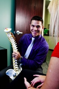 Dr. Dan Sallee,  has a Bachelor's of Science degree in Biology, he attended Palmer College of Chiropractic and was awarded his Doctorate of Chiropractic graduating Magna Cum Laude in 2010. It wasn't until he was 17 years old that he visited a chiropractor for the first time and it was truly a life changing experience. He became a doctor of chiropractic so that he might be able to change the lives of others the same way chiropractic changed his.