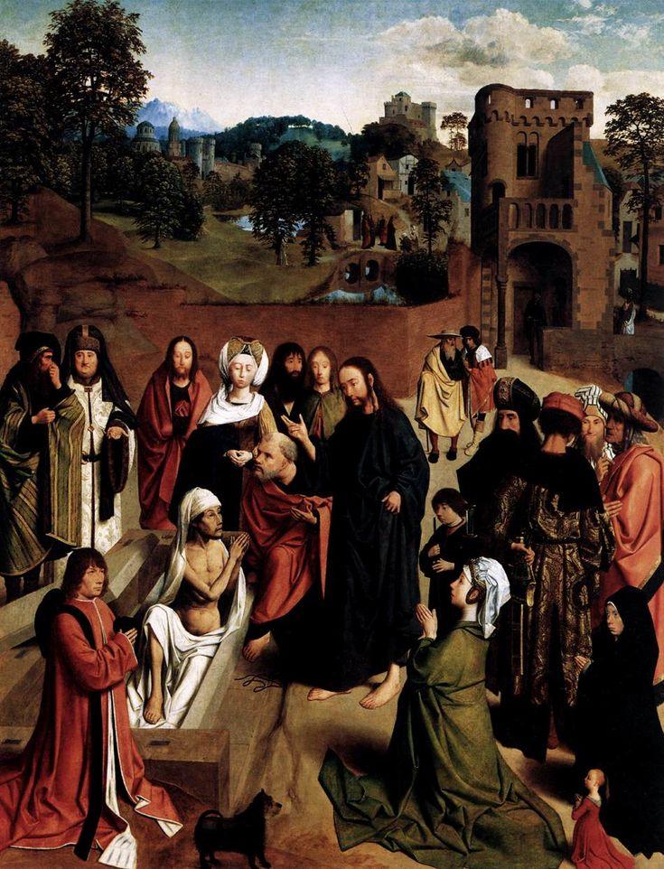 Geertgen tot Sint Jans (1460/1465 – до 1495) Воскрешение Лазаря 1480