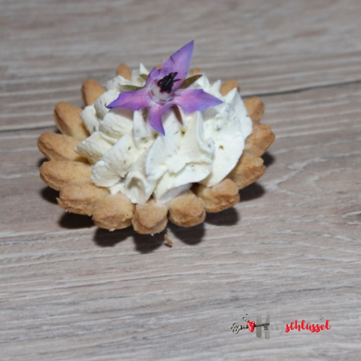 Herzschlüssel: Pikante Blüten, Lumara, Fingerfood, herzhafter Snack, #DIY