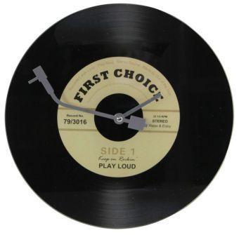 Wanduhr Schallplatte - coole Geschenkidee!