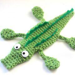 амигуруми крокодил схема вязаной игрушки