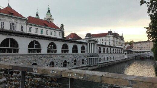 Ljubljana heel mooi, gezellig centrum