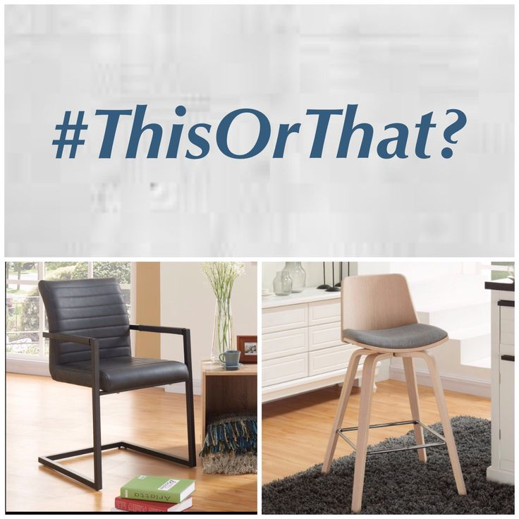 #ThisOrThat - Difficult to choose the best one for your space, right?