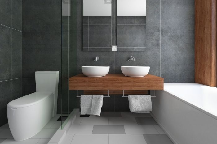 une petite salle de bain