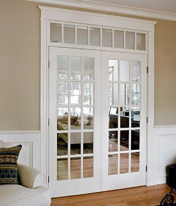 M s de 25 excelentes ideas populares sobre puertas de for Puertas de madera blancas para exterior