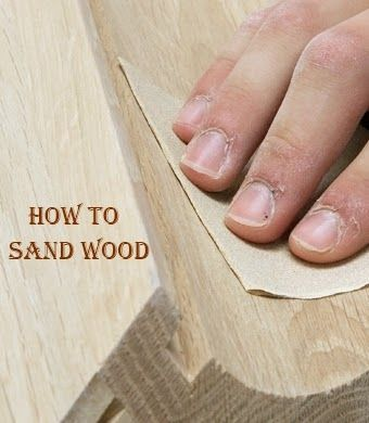 How to Sand Wood - There's an art to sanding wood. If you've ever been dissatisfied with the finish on a piece of furniture you made, it's probably because you didn't know how to sand wood correctly.