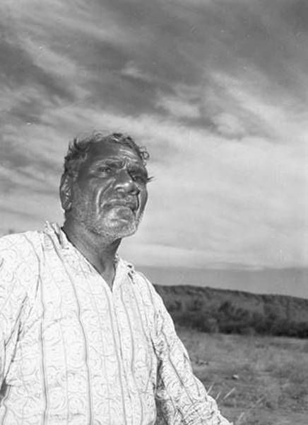 If you are friends or family of Namatjira and wish me to remove this image please let me know. S Albert Namatjira, 1958 artist