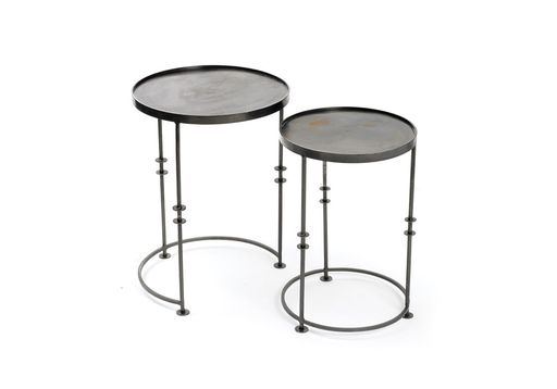 Iron Disc Tables- Set of 2 : Hammertown