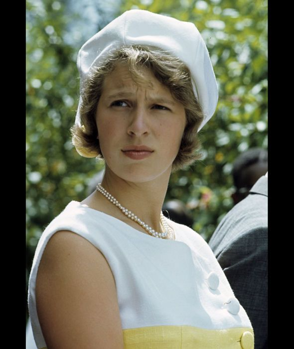 Princess Anne while on holiday in Jamaica (1966).                                                                                                                                                                                 More