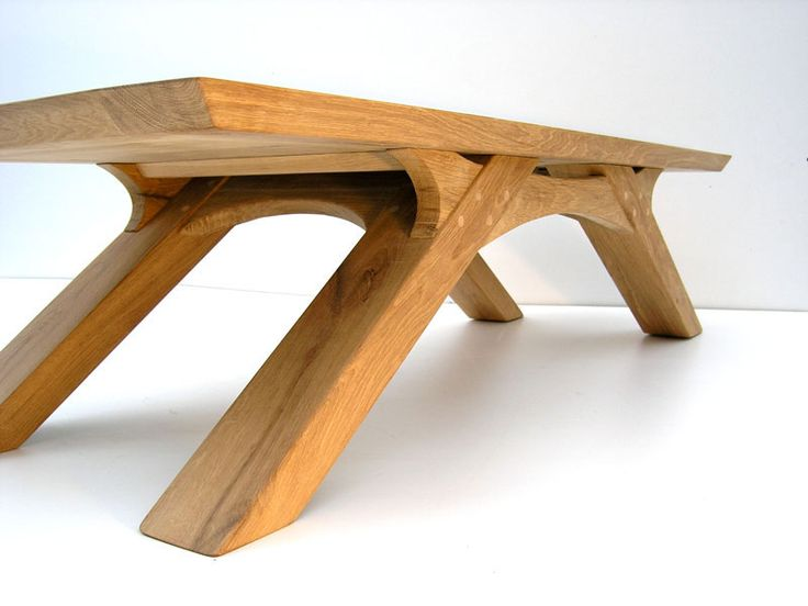 Sustainable Oak Coffee Table by Makers Bespoke Furniture https://www.makersbespokefurniture.com/gallery/oak-arch-leg-coffee-table/ #Sustainable #Oak #Coffeetable