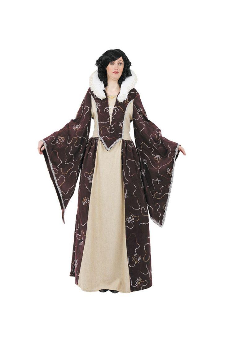 Disfraz Medieval de Reina