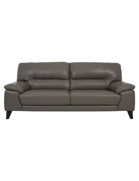 A modern take on a classic sofa, the Luna three-seater sofa has instant appeal. Tapered wooden legs provide a mid-century feel whilelow arms make this a great sofa for smaller places.