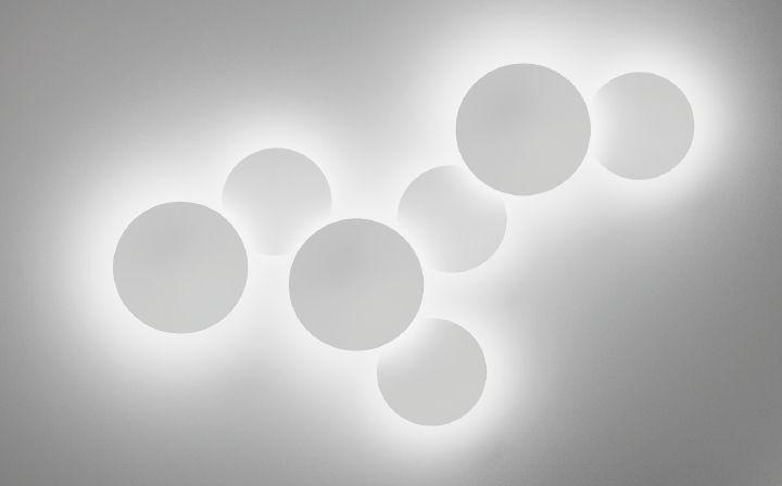 Lampade da parete PUCK WALL ART Design by Jordi Vilardell