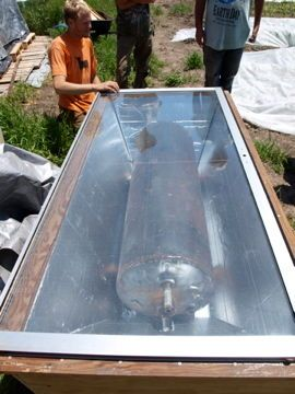 Batch Solar Water Heater
