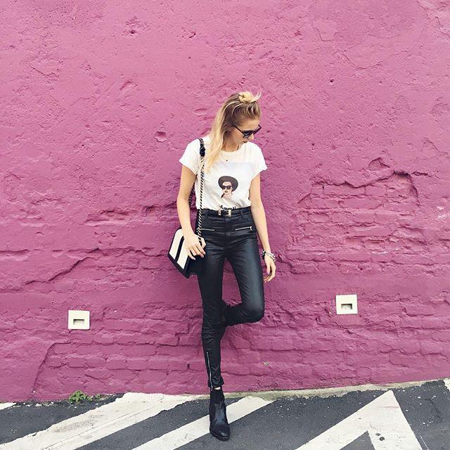 Bora fingir que tamo naquela parede rosa famosa de LA?✨ #today #lookdodia #blogayrinha #queveachaquesoualta #saumpaulo #combinounomeufeed #alokadofeed