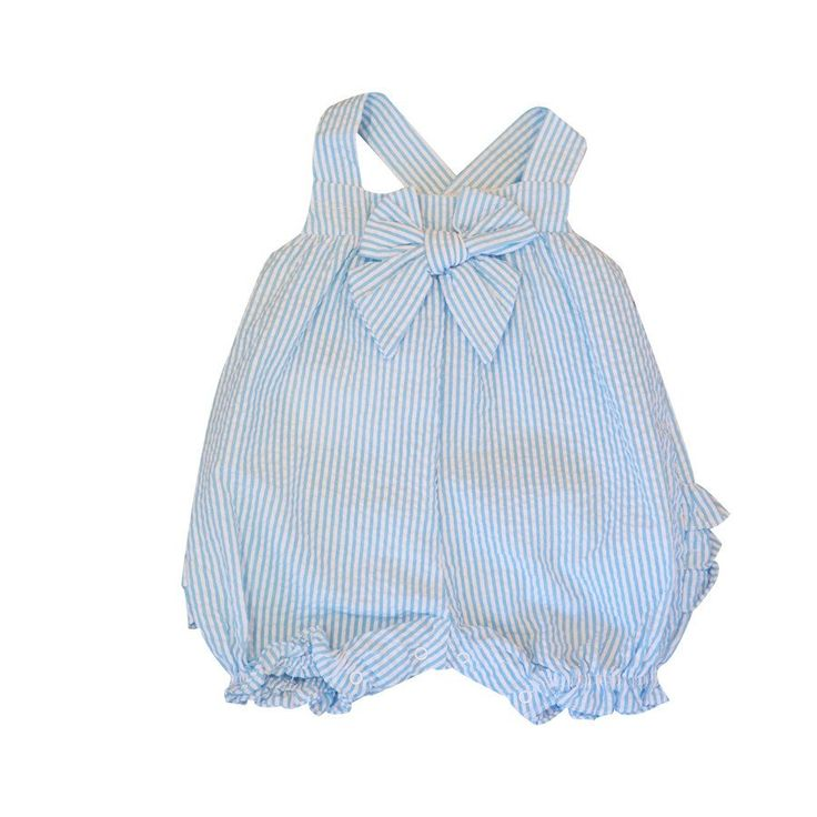 Sweet Summer Style Romper- Aqua KS4253 CS - Clothing - girls - Baby Belle