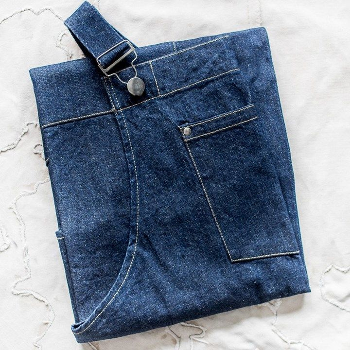 Denim apron | The Lost and Found Department