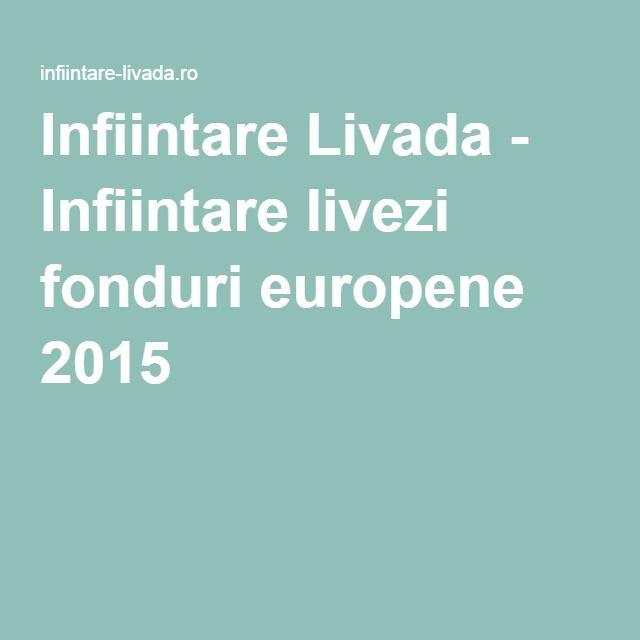Infiintare Livada - Infiintare livezi fonduri europene 2015