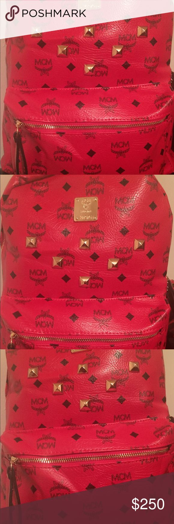 Mcm backpack Great bag like new MCM Bags Backpacks