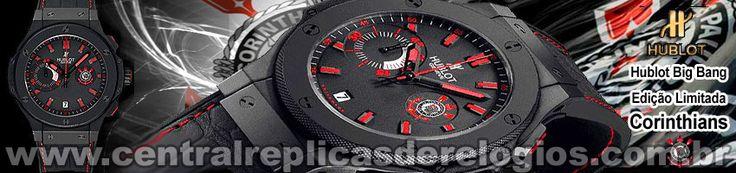 Replica de relógio hublot corinthinas: www.replicasderelogios.eco.br