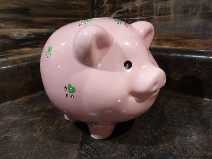 MUSICAL PIGGY BANK - Vintage Russ Berrie Musical Piggy Bank 1970's by JusFunkinAround on Etsy