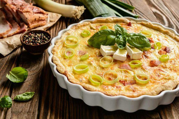 ¿Has probado la quiche de puerros? Inspirada en una receta francesa pero con relleno de la tierra: ¡taquitos de jamón curado! Te contamos el paso a paso.