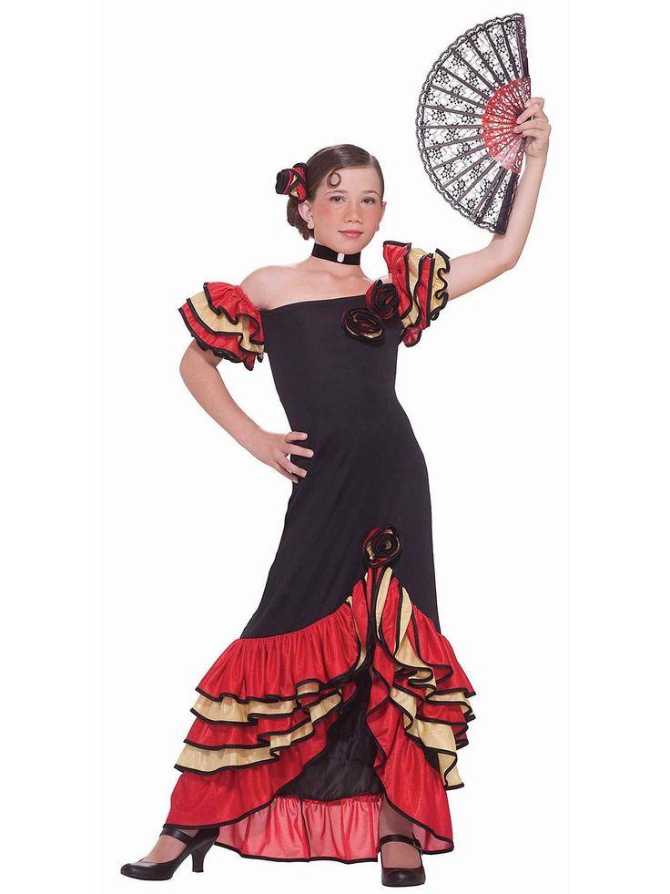 Flamenco Girl Costume   Wholesale International Costumes for Girls