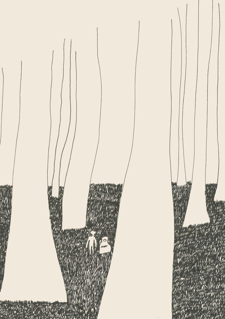 Folio Society project, illustrations for To Kill a Mocking Bird