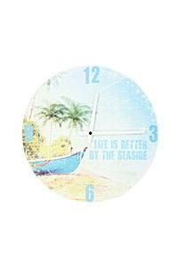 LIFE IS BETTER PAPER CLOCK