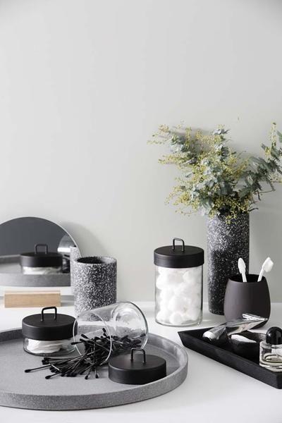 Glass Jar - Black - MINT Interior Design