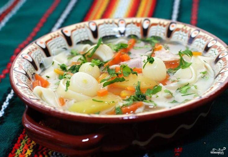 Суп с курицей и кукурузой - пошаговый рецепт с фото на ...