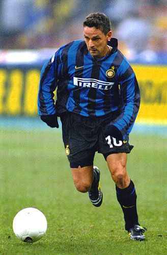 Roberto Baggio all'Inter