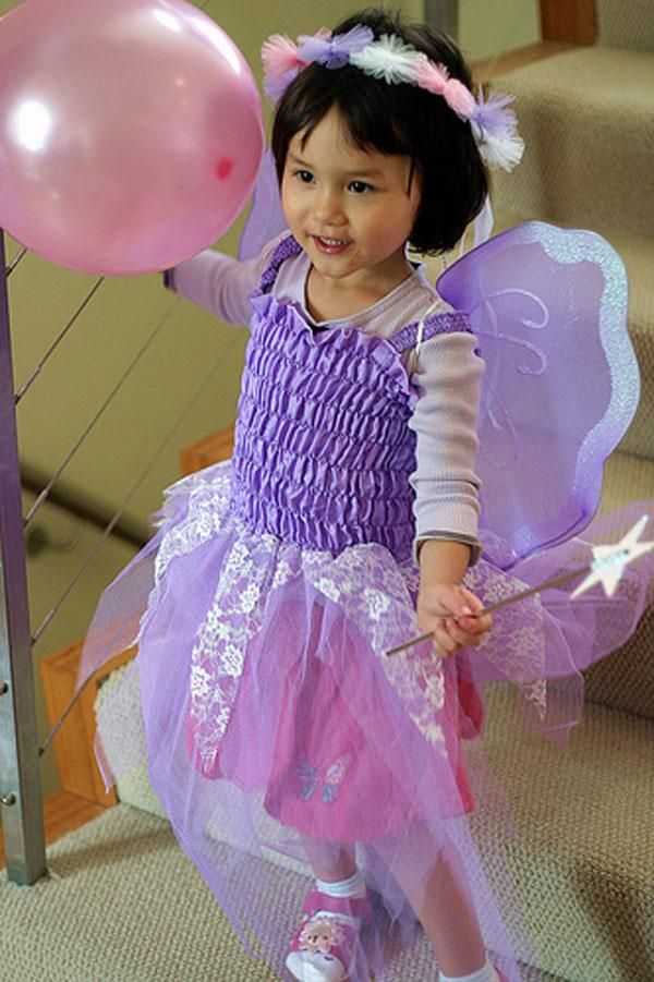 DIY Fairy Costume : DIY Make a Fairy Costume : DIY Halloween DIY Costumes Halo