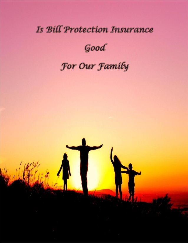 Check out this document to know the benefits of bill protection insurance policy, this document will tell you how this coverage plan helps us and our family, and protect our lifestyle against unforeseen events. You can know more about this plan by following this link http://www.trueinsurance.com.au/bill-protection-insurance