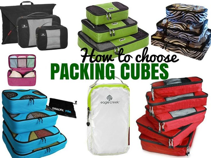 The Best Travel Packing Cubes Review of EatSmart TravelWise Packing Cubes by Chasing the Donkey.