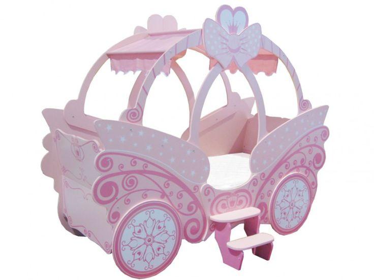 Simple Prinzessin Bett Kinderbett Rose g nstig onine kaufen Markenqualit t zu Discountpreisen im Kinderbetten M bel Online Shop Kauf Unique de