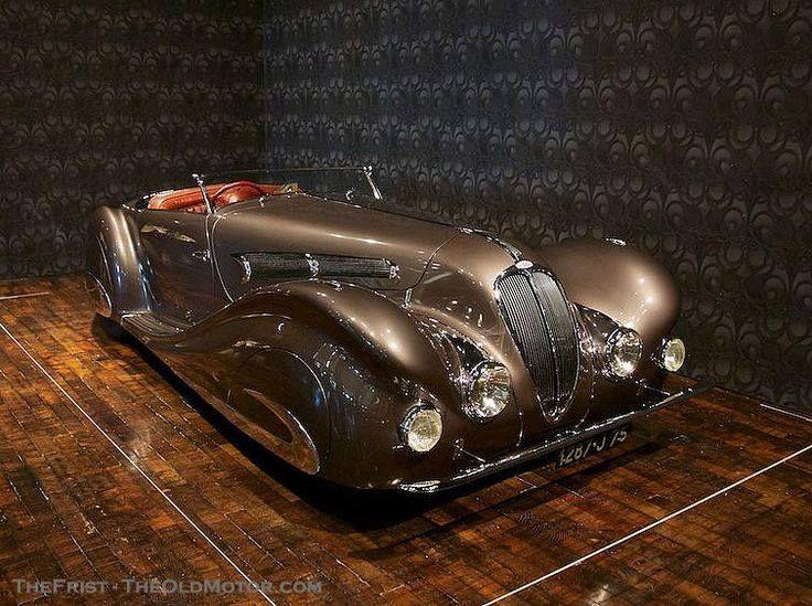 1937 Delahaye Figoni & Falaschi Roadster!