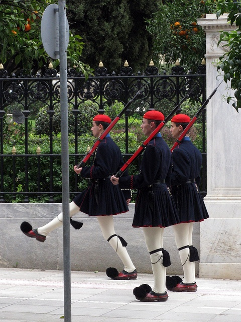 Changing of the guards, Presidential Palace - #Athens, #Greece