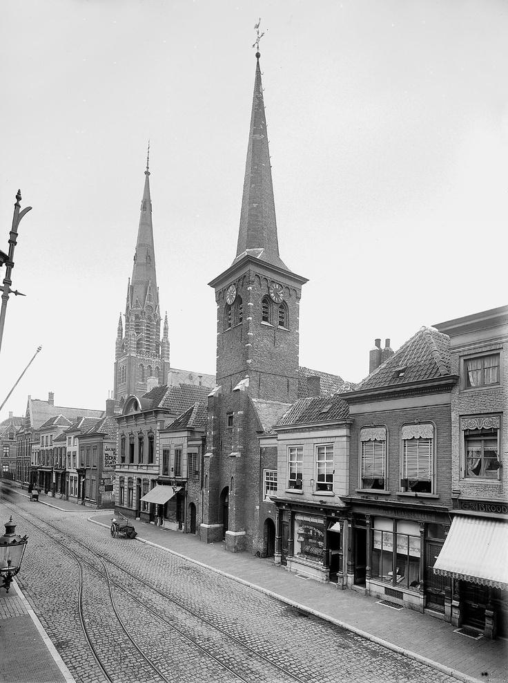 Netherlands, Breda.  Sint Joostkapel - Ginnekenstraat.  1909.
