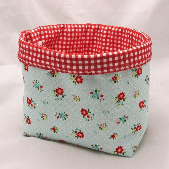 Small Fabric Basket Bin by Kukui
