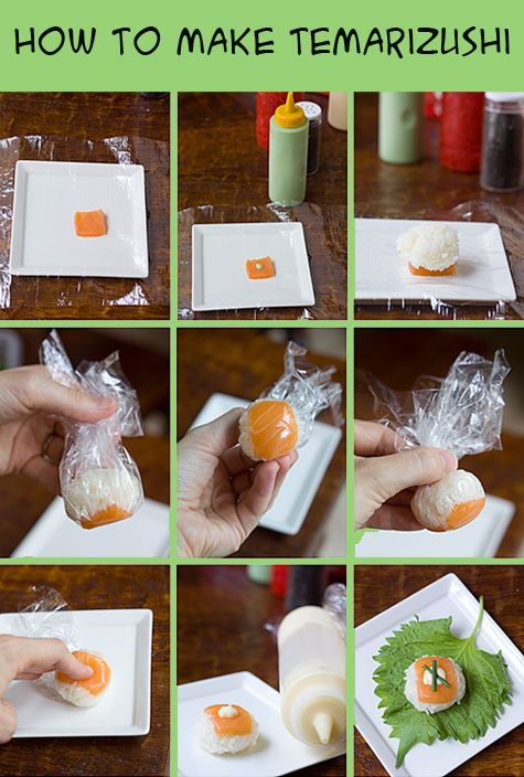 How to Make Temarizushi (Ball-Shaped Sushi)